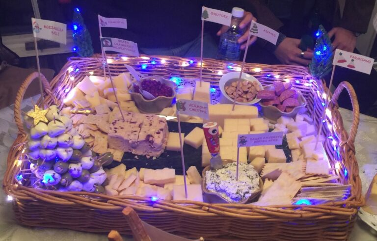 "International ""Cheese Village"" Platters"